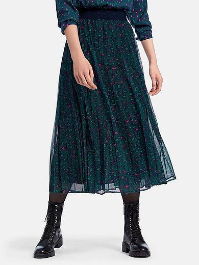 Looxent - Plisserad kjol med leopardmönster