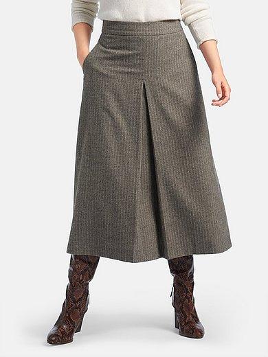 Fadenmeister Berlin - Skirt with pinstripe motif