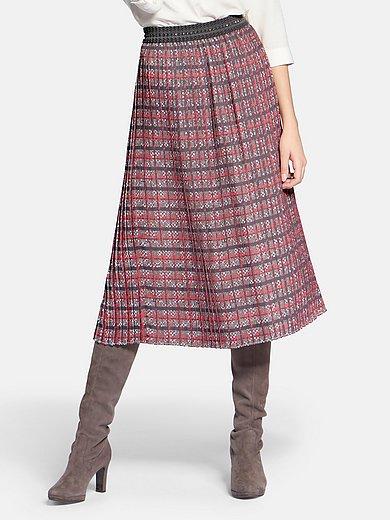 Basler - Slip-on skirt with swinging hem