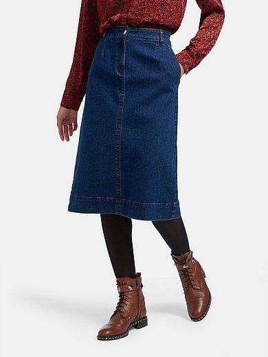 Peter Hahn - La jupe en jean à 2 poches côtés