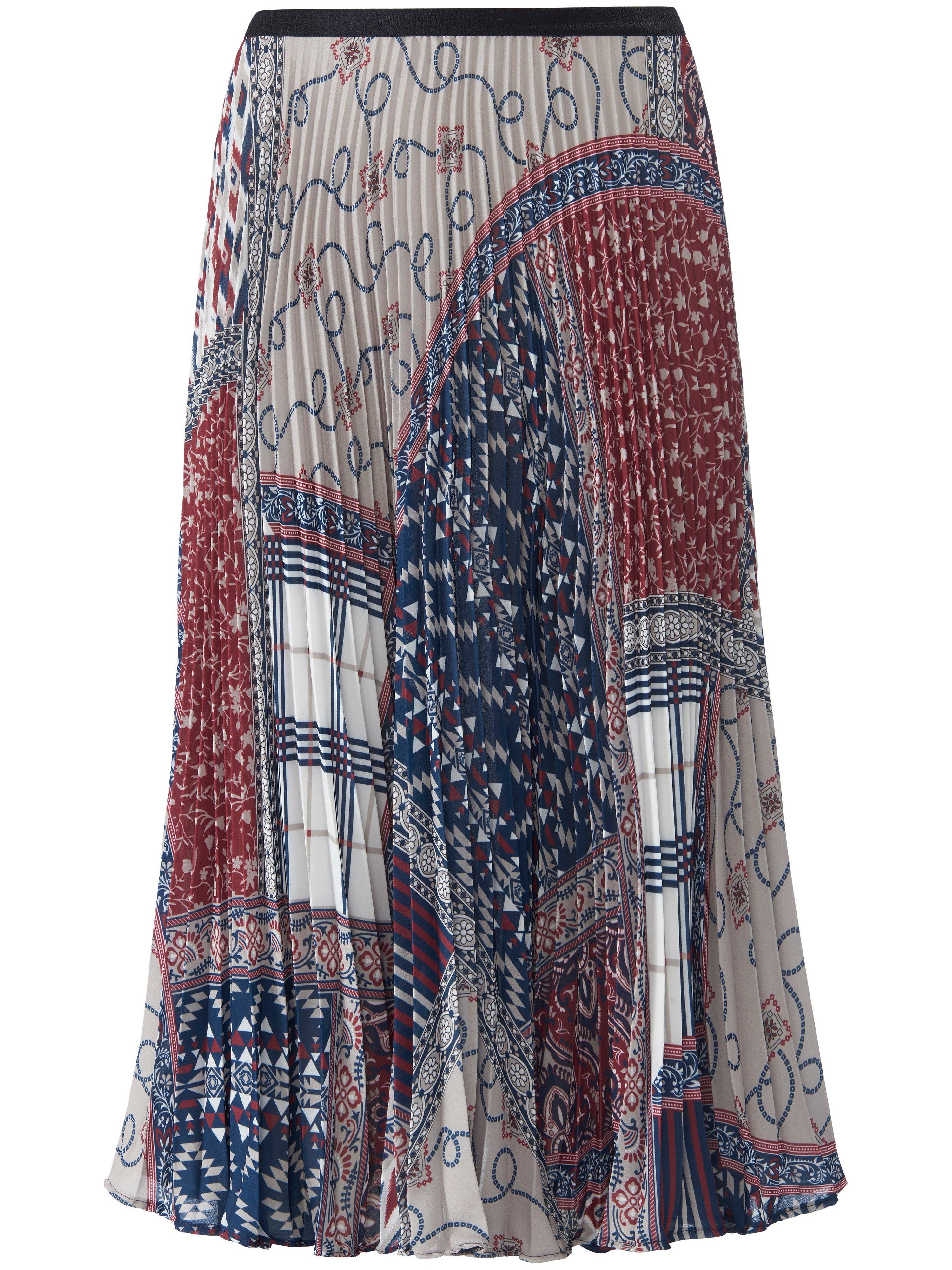 La jupe à imprimé foulard  Peter Hahn bleu taille 54