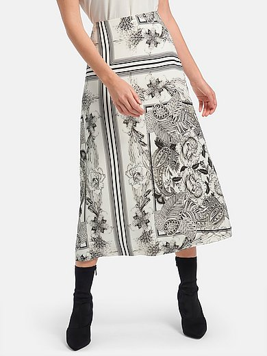 Riani - Flared skirt with print