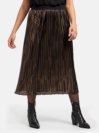 Emilia Lay - La jupe plissée à ceinture élastiquée