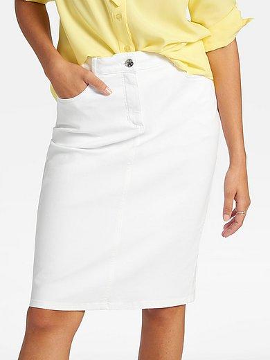 Basler - La jupe en jean, coupe 5 poches