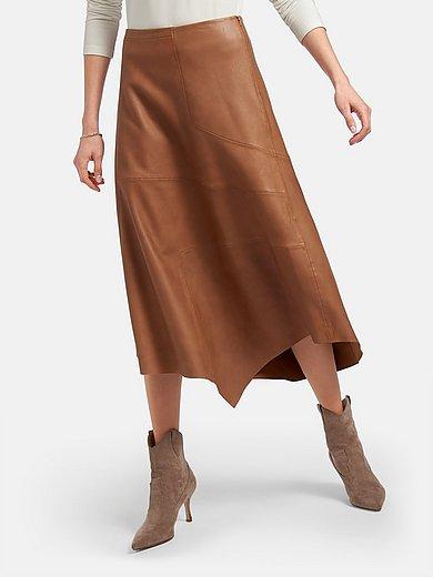 (THE MERCER) N.Y. - La jupe en cuir nappa d'agneau