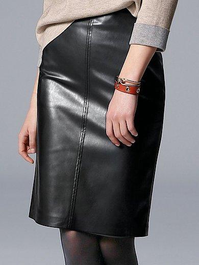 comma, - Figurnära kjol i fuskskinn