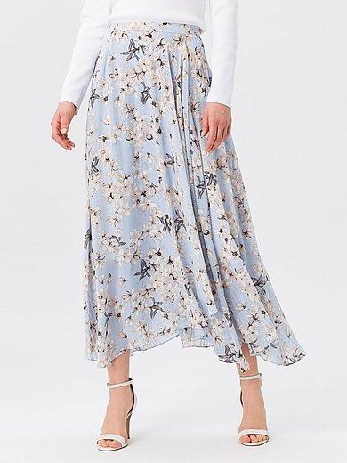 Nederdel med blomsterprint