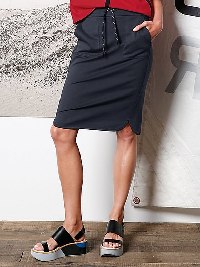 DAY.LIKE - Jersey skirt with elasticated waistband