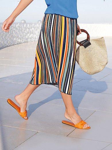 Emilia Lay - La jupe plissée à taille élastiquée