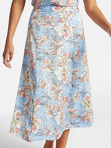 Basler - Skirt with floral print