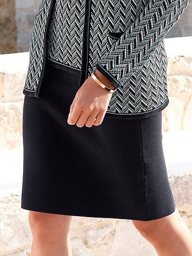 mayfair by Peter Hahn - Knitted pull-on skirt