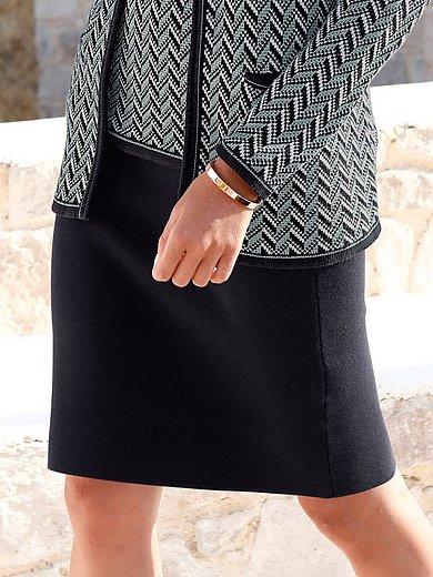 mayfair by Peter Hahn - La jupe en maille avec taille élastiquée
