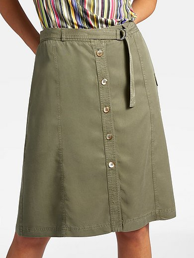 Basler - Skirt with lengthwise seams