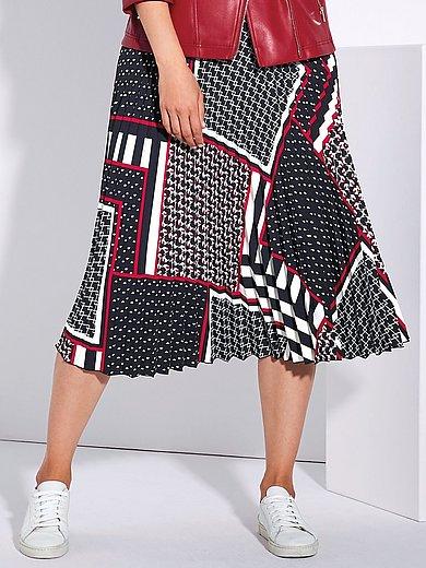 Persona by Marina Rinaldi - Plisserad kjol med patchmönster