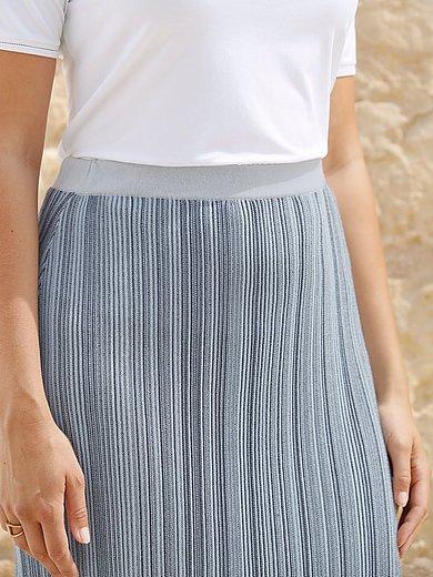 Anna Aura - La jupe en maille côtelée