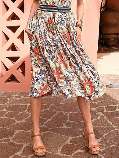 Schneiders Salzburg - Skirt with a striped elasticated waistband