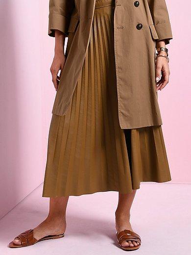 Marella - Plisserad kjol i midilängd