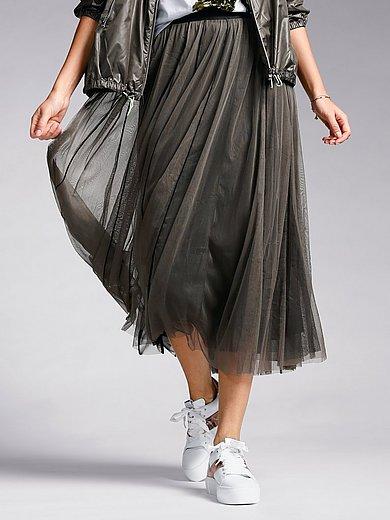 Margittes - Mesh pull-on skirt