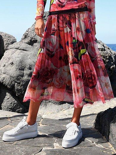Margittes - Nederdel med blomsterprint