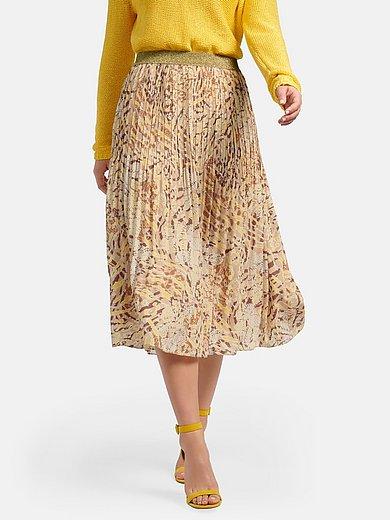 Basler - La jupe plissée à taille élastiquée