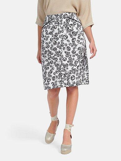 Basler - Summer skirt with leaf print