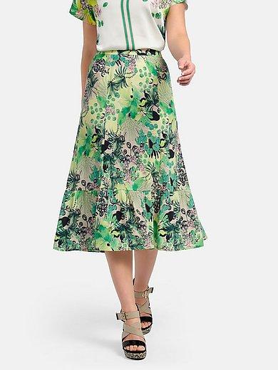 Basler - Panel skirt with floral print