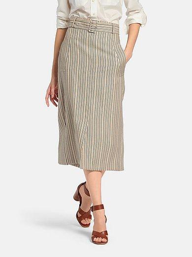 Fadenmeister Berlin - La jupe à rayures verticales