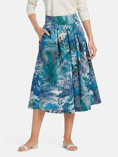 Peter Hahn - Pleated summer skirt in 100% cotton