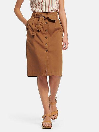 Peter Hahn - Skirt with waist pleats
