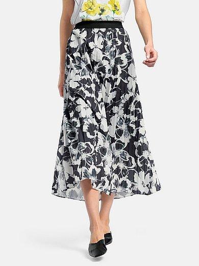 Margittes - Plisseret nederdel med elastisk linning