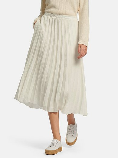 tRUE STANDARD - Pleated skirt with side pockets