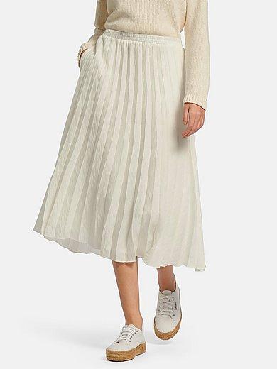 tRUE STANDARD - Plisseret nederdel med elastisk linning