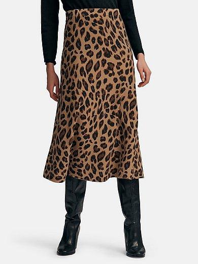include - Stickad kjol i 100% kashmir