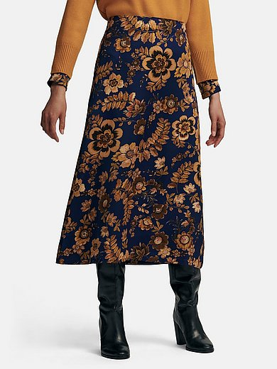 St. Emile - Skirt with floral print
