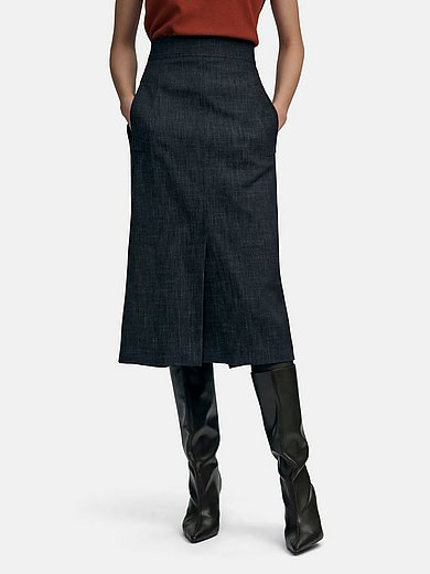 Fadenmeister Berlin - La jupe en jean avec zip discret dos