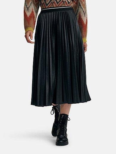 oui - La jupe plissée avec inscription love à la taille