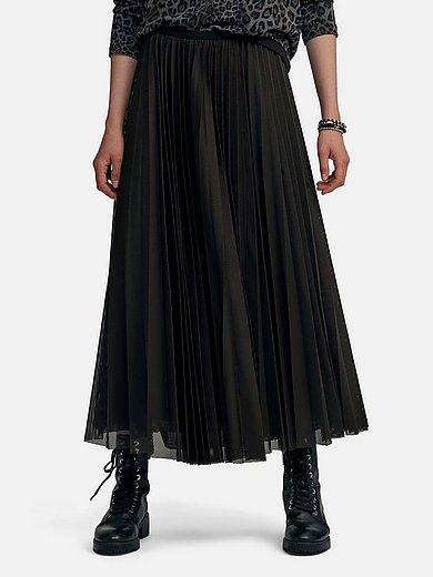 Margittes - Long pleated skirt